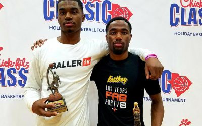 Slam dunk, 3-point champs crowned and semifinals set for Chick-fil-A Classic